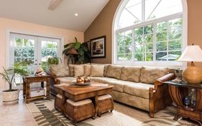 Картинка design, style, living room, interior, villa