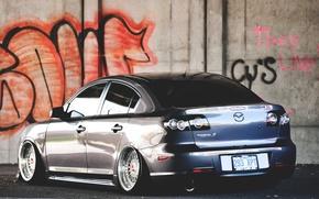Картинка граффити, graffiti, mazda, мазда