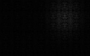 Картинка темный фон, узор, ограничение