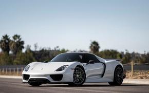 Обои Porsche, суперкар, порше, Spyder, 918