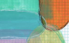 Картинка лист, фон, цвет