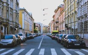 Картинка машины, улица, здания, дома, Питер, Санкт-Петербург, Россия, Russia, спб, St. Petersburg, spb