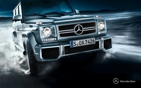 Картинка Mercedes-Benz, 2012, мерседес, гелендваген, Gelandewagen, G-class, w463, Stationwagon