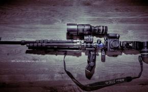 Картинка оружие, камеры, штатив