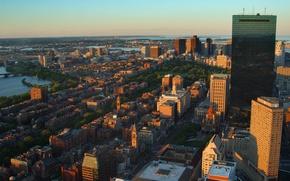 Картинка city, город, USA, Boston, Massachusetts