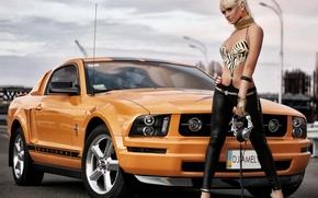 Картинка Mustang, Ford, тачка, форд