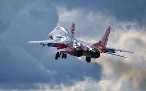 Обои самолёт, MiG-29, оружие
