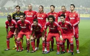 Картинка футбол, Cristiano Ronaldo, состав, Real Madrid