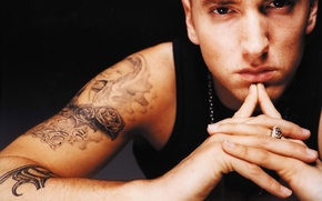 Обои rap, hip hop, Хип-хоп, Marshall Bruce Mathers, реп, Slim Shady, Эминем, Маршалл Брюс Мэтерс, Eminem