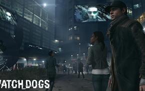 Картинка улица, Watch Dogs, Сторожевые псы, Aiden Pearce