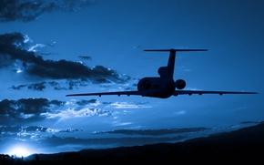 Картинка sky, aviation, transportation, airplain