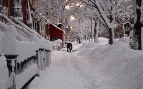 Картинка city, город, USA, NYC, winter, New_York
