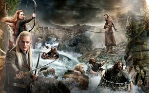 Обои Хоббит: Пустошь Смауга, or There and Back Again, The Hobbit: The Desolation of Smaug, или ...