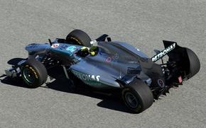 Картинка Mercedes-Benz, формула 1, болид, race, W04, MGP