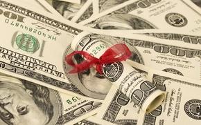 Обои money, dollars, tape