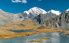 Картинка Горы, Горный Алтай, Долина семи озер