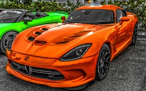 Обои Dodge Viper, sports car, Dodge Viper SRT-10