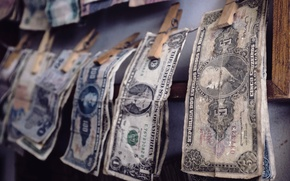 Картинка макро, фон, деньги
