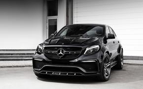 Обои Mercedes-Benz, мерседес, Coupe, TopCar, C292, GLE-Class