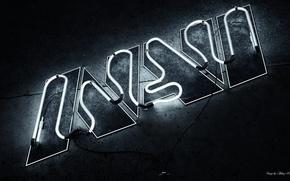 Картинка logo, neon, navi