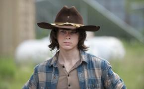 Обои Ходячие мертвецы, Carl, Chandler Riggs, The Walking Dead