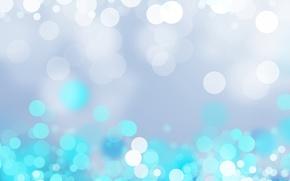 Картинка голубой, блестки, кружочки