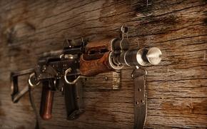 Картинка оружие, Калашникова, Автомат, AKS74U, АКС-74У