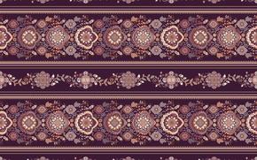Обои цветы, орнамент, узор, бордовый