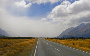 Картинка дорога, горы, даль