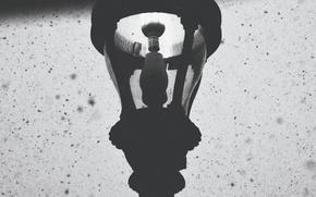 Картинка winter, lamp, snowing