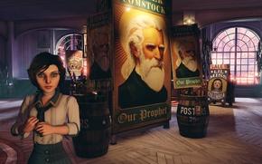 Картинка Игра, Bioshock, Биошок, Элизабет, Elisabeth