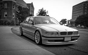 Картинка BMW, long, E38