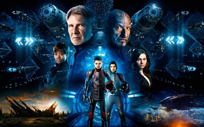 Картинка Fantasy, Movie, Sci-Fi, Ender's Game, Science Fiction