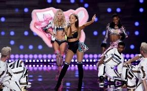 Картинка шоу, 2014, Ariana Grande, victoria's secret fashion show