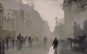 Картинка Лондон, Assassins Creed, Арт, Ubisoft, Синдикат, Syndicate, Assassin's Creed: Syndicate, Assassin's Creed: Синдикат