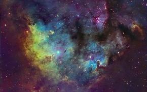 Картинка космос, Cederblad 214, Cepheus