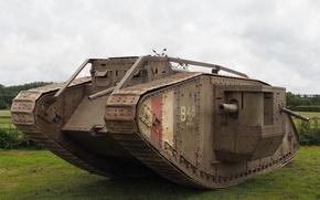 Картинка танк, бронетехника, MK IV, Replica