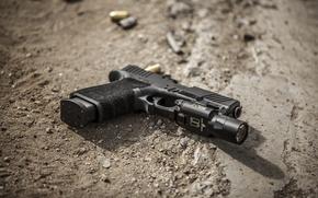 Картинка пистолет, оружие, Glock 19, самозарядный