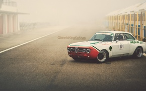 "Обои Alfa Romeo, retro, 1970, oldschool, Giulia, GTAm, By Giannis ""KING"" Kokkas, 1750"