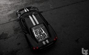 Картинка стоянка, Ferrari, чёрный фон, f430 scuderia
