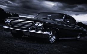 Картинка 1967, sedan, hardtop, Impala, Сhevrolet