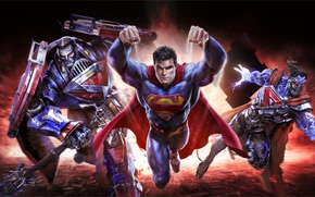 Обои Clark Kent, DC comics, Warner Games, Superman, art, Kal-El, infinite crisis, mmorpg