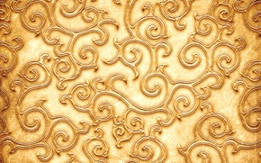 Картинка узор, текстура, texture, pattern, золотистый цвет, Golden color