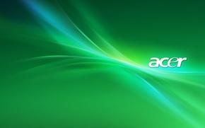 Картинка обои, ноутбук, бренд, Acer, асер