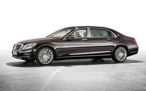 Картинка Mercedes-Benz, Maybach, мерседес, майбах, S-Class, X222, 2015