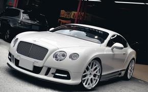 Картинка Авто, Bentley, Тюнинг, Машины, Гараж