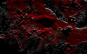 Обои фон, чёрный, красно