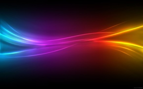 Обои цвета, Color pulse, плетенка, линии