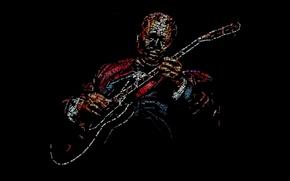Картинка гитара, гитарист, музыкант, блюз, певец, Riley B. King, BB King