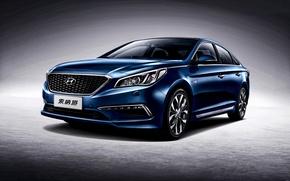 Картинка хундай, 2015, Sonata, CN-spec, соната, Hyundai, Hybrid
